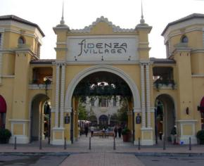 Outlet mall in Florence, Italy