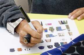 Marni founder and Creative Director, Consuelo Castiglioni sketches for H&M.